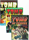 Golden Age (1938-1955):Horror, Tomb of Terror Group (Harvey, 1952-54) Condition: Average VG/FN....(Total: 8 Comic Books)