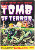 Golden Age (1938-1955):Horror, Tomb of Terror #16 (Harvey, 1954) Condition: FN+....