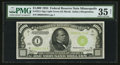 Fr. 2211-I $1,000 1934 Light Green Seal Federal Reserve Note. PMG Choice Very Fine 35 Net