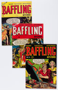 Golden Age (1938-1955):Horror, Baffling Mysteries Group (Ace, 1953-55) Condition: Average VG-....(Total: 6 Comic Books)