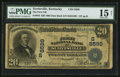 National Bank Notes:Kentucky, Scottsville, KY - $20 1902 Date Back Fr. 644 The First NB Ch. #(S)8599. ...
