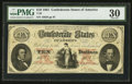 Confederate Notes:1861 Issues, T26 $10 1861 PF-2 Cr. 313.. ...
