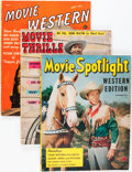 Memorabilia:Movie-Related, Cowboy Movie Magazine Group (1949-52).... (Total: 5 Items)