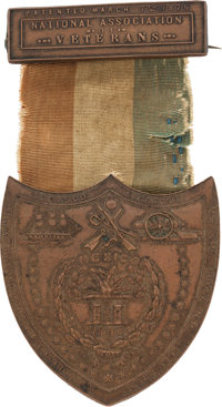 """Mexican War Veteran's Medal Inscribed in Script on the Verso """"John Ulam / 3rd Ohio Inf."""""""