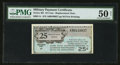 Series 461 25¢ Replacement PMG About Uncirculated 50 Net