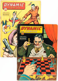 Dynamic Comics #12 and 14 Group (Chesler, 1944-45).... (Total: 2 Comic Books)