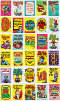 Memorabilia:Trading Cards, Monster Greeting Card Complete Set (Topps, 1965).... (Total:50 Items)