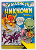 Silver Age (1956-1969):Science Fiction, Challengers of the Unknown #1 (DC, 1958) Condition: VG+....