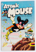 Golden Age (1938-1955):Funny Animal, Atomic Mouse #1 (Charlton, 1953) Condition: FN....