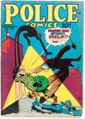 Golden Age (1938-1955):Crime, Police Comics #27 (Quality, 1944) Condition: VG-....