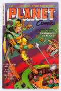 Golden Age (1938-1955):Science Fiction, Planet Comics #71 (Fiction House, 1953) Condition: FN....