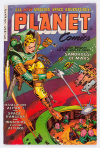Planet Comics #71 (Fiction House, 1953) Condition: FN