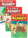 Golden Age (1938-1955):Cartoon Character, Little Audrey Group (St. John, 1948-52) Condition: Average VG.... (Total: 8 Comic Books)