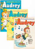 Golden Age (1938-1955):Humor, Little Audrey Group (Harvey, 1952-56) Condition: Average VF.... (Total: 23 Comic Books)