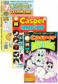 Bronze Age (1970-1979):Cartoon Character, Casper Related File Copy Group (Harvey, 1970s) Condition: AverageVF/NM.... (Total: 69 Comic Books)