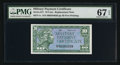 Military Payment Certificates:Series 611, Series 611 10¢ Replacement PMG Superb Gem Unc 67 EPQ.. ...