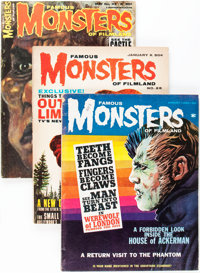 Famous Monsters of Filmland Group (Warren, 1963-68) Condition: Average VG/FN.... (Total: 10 Items)