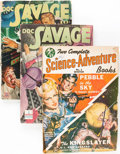 Pulps:Science Fiction, Assorted Science Fiction Pulps Group (Various, 1942-50) Condition:Average VG.... (Total: 4 Items)