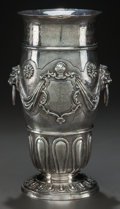 Silver Holloware, American:Vases, AN AMERICAN SILVER VASE, 20th century. Marks: STERLING. 12inches high x 5-1/2 inches diameter (30.5 x 14.0 cm). 73.80 t...