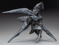 DIMITRI HADZI (American, 1921-2006) Untitled Cast bronze 17 inches (43.2 cm) high Ed. 5/6 I