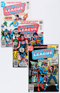 Bronze Age (1970-1979):Superhero, Justice League of America #120-261 Near Complete Group (DC, 1971-87) Condition: Average NM-.... (Total: 114 Comic Books)