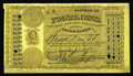 Miscellaneous:Postal Currency, Excessively Rare Eastman, Georgia Postal Note. This attractive note bears low serial number 6 and was issued in September of...