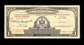 Miscellaneous:Postal Currency, Lincoln, NE Postal Savings Note. A Series 1917 $1 Postal SavingsNote dated September 21, 1937 and purchased in Lincoln, Neb...