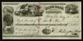 Miscellaneous:Other, Ilion, NY Bank Check signed by Remington.. Eliphalet Remington(1793-1861), firearms and farm equipment manufacturer, market...