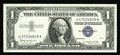 Error Notes:Mismatched Serial Numbers, Fr. 1621 $1 1957B Silver Certificate. Gem Crisp Uncirculated.. This example of the ever popular U37/U47 mismatch serves up s...