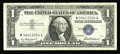 """Error Notes:Mismatched Prefix Letters, Fr. 1619 $1 1957 Silver Certificate. Inverted """"W"""" in Right SerialVery Fine.. This note is briefly discussed on page 374 of ..."""