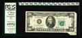 Error Notes:Attached Tabs, Fr. 2069-B $20 1969B Federal Reserve Note. PCGS Extremely Fine45PPQ An attached tab at right has a slight portion of the gr...