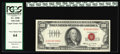 Small Size:Legal Tender Notes, Fr. 1550 $100 1966 Legal Tender Note. PCGS Very Choice New 64.. The margins preclude the assignment of the Gem grade though ...