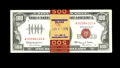 Small Size:Legal Tender Notes, Fr. 1550 $100 1966 Legal Tender Notes. Five Consecutive Examples. Extremely Fine.. This fivesome of Red Seal Hundreds is ban... (Total: 5 notes)