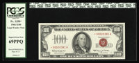 Fr. 1550* $100 1966 Legal Tender Note. PCGS Superb Gem New 69PPQ. This is a simply extraordinary note which combines bot...