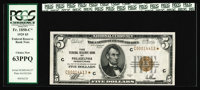 Fr. 1850-C* $5 1929 Federal Reserve Bank Note. Choice Crisp Uncirculated. This lovely star example from the Cookson Coll...