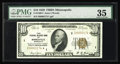 Small Size:Federal Reserve Bank Notes, Fr. 1860-I* $10 1929 Federal Reserve Bank Note. PMG Choice Very Fine 35.. A problem free example of a very scarce star. Toni...