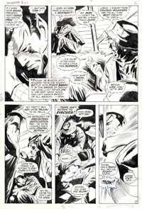 Gene Colan and Mike Esposito Sub-Mariner #47 Pages 2-5 Partial Story Original Art Group (Marvel, 1972).... (Total: 4 Ori...