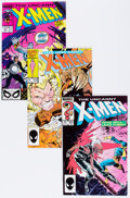 Modern Age (1980-Present):Superhero, X-Men Group (Marvel, 1981-89) Condition: Average VF.... (Total: 99Comic Books)