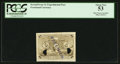 Fractional Currency:Second Issue, Milton 2E5F.1 5¢ Second Issue Progress Proof PCGS About New 53.. ...