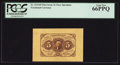 Fractional Currency:First Issue, Fr. 1231SP 5¢ First Issue Wide Margin Face PCGS Gem New 66PPQ.. ...