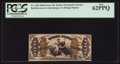Fractional Currency:Third Issue, Fr. 1343 50¢ Third Issue Justice PCGS New 62PPQ.. ...