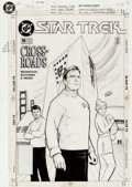 Original Comic Art:Covers, Jason Palmer Star Trek V2 #74 Cover Original Art (DC,1995)....