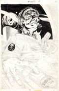 Original Comic Art:Splash Pages, Unknown Artist Splash Page Original Art (c. 1975)....