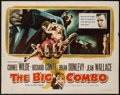 "Movie Posters:Film Noir, The Big Combo (Allied Artists, 1955). Half Sheet (22"" X 28"") Style A. Film Noir.. ..."
