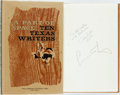 Books:Literature 1900-up, [Larry McMurtry]. Betsy Feagan Colquitt. SIGNED/INSCRIBED. APart of Space: Ten Texas Writers. Fort Worth: Texas Chr...