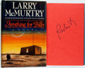 Books:Literature 1900-up, Larry McMurtry. SIGNED. Anything for Billy. New York, et al:Simon and Schuster, [1988]. First edition. Signed by ...