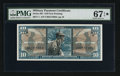 Military Payment Certificates:Series 681, Series 681 $10 PMG Superb Gem Unc 67 EPQ*.. ...