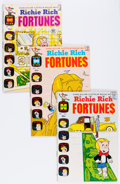 Bronze Age (1970-1979):Humor, Richie Rich Fortunes Group (Harvey, 1971-82) Condition: AverageVF.... (Total: 21 Comic Books)