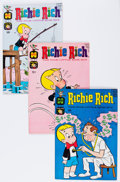 Silver Age (1956-1969):Humor, Richie Rich Group (Harvey, 1960s-'70s) Condition: Average VF+.... (Total: 82 Comic Books)