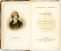 """Books:Biography & Memoir, Wraxall, Sir N[athaniel] W[illiam]. Posthumous Memoirs of His Own Time. By Sir N. W. Wraxall, Bart. Author of """"Memoirs of My ... (Total: 3 Items)"""